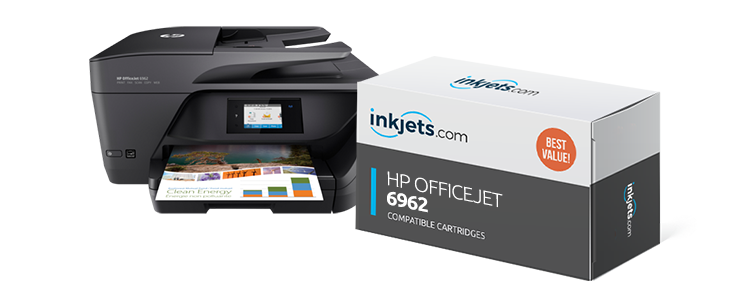 Hp Officejet 6962 Ink Inkjets Com