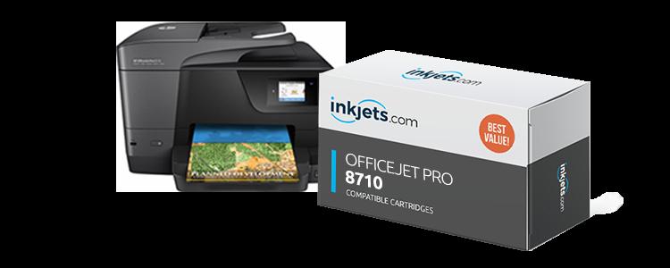 מדהים HP OfficeJet Pro 8710 Ink Cartridge - Inkjets.com MF-63