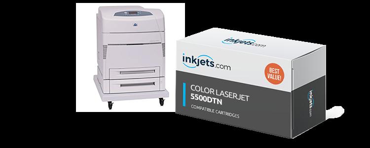 Color LaserJet 5500dtn