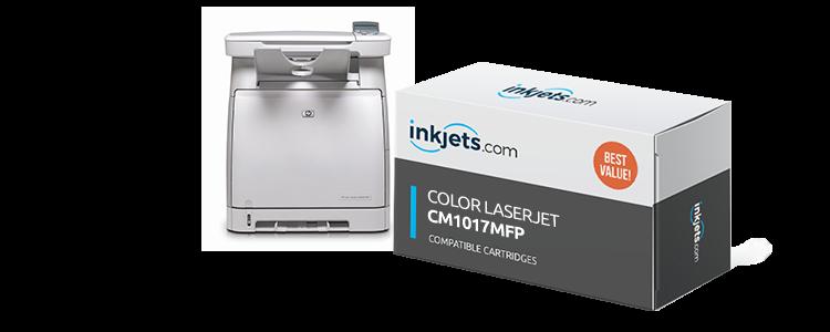 Color LaserJet CM1017mfp