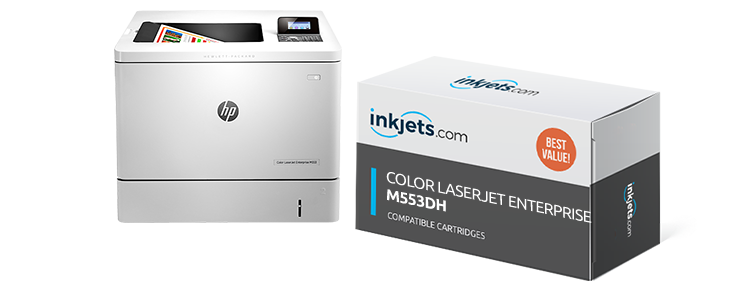 Color LaserJet Enterprise M553dh