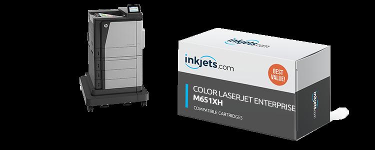 Color LaserJet Enterprise M651xh