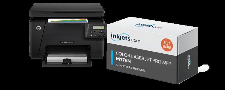 Color LaserJet Pro MFP M176n