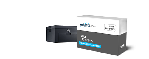 Dell 1250 / 1350 / 1750 / 1760 Compatible High-Yield Toner 4-Piece Combo  Pack